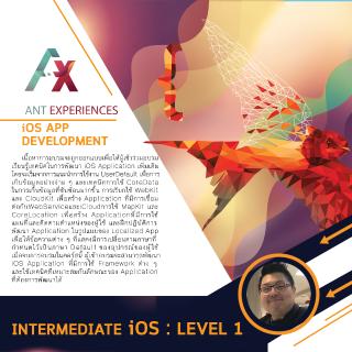 Intermediate iOS Application Development Level 1